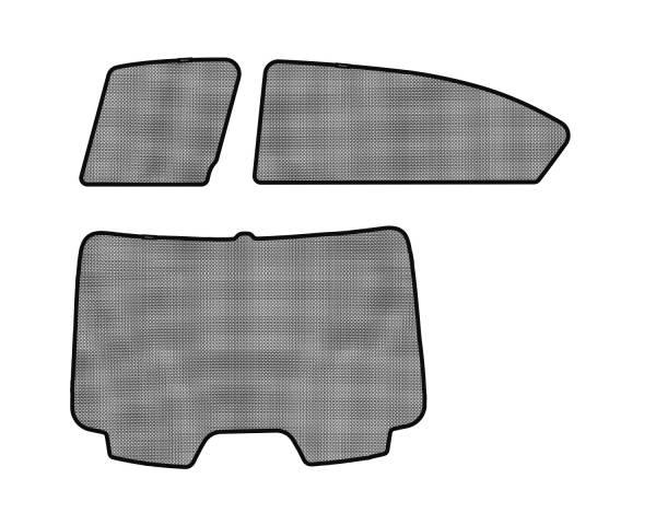 3D MAXpider - 3D MAXpider HONDA ACCORD SEDAN 2013-2017 SOLTECT SUNSHADE SIDE & REAR WINDOW