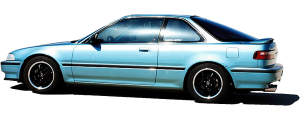 "QAA - Acura Integra 1990-1993, 4-door, Sedan (8 piece Stainless Steel Rocker Panel Trim, Upper Kit 4.75"" Width Spans from the bottom of the molding DOWN to the specified width.) TH90975 QAA - Image 2"