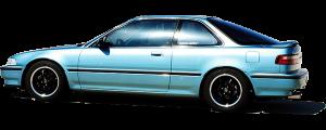 QAA - Acura Integra 1994-2001, 2-door, Coupe (4 piece Stainless Steel Door Handle Accent Trim ) DH96970 QAA - Image 2