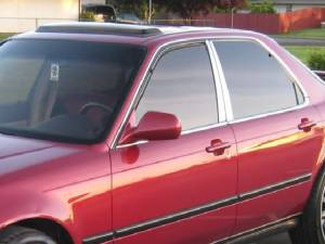 QAA - Acura Legend 1991-1995, 4-door, Sedan (4 piece Stainless Steel Pillar Post Trim ) PP91295 QAA