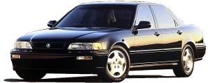 QAA - Acura Legend 1991-1995, 4-door, Sedan (6 piece Stainless Steel Pillar Post Trim ) PP91296 QAA - Image 2