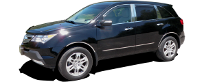 QAA - Acura MDX 2007-2013, 4-door, SUV (6 piece Stainless Steel Pillar Post Trim ) PP27298 QAA - Image 2