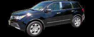 QAA - Acura MDX 2007-2013, 4-door, SUV (6 piece Stainless Steel Window Sill Trim Set ) WS27297 QAA - Image 2