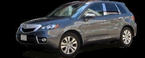 QAA - Acura RDX 2007-2012, 4-door, SUV (4 piece Stainless Steel Pillar Post Trim ) PP27270 QAA - Image 2