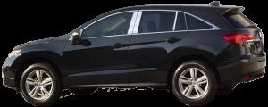 QAA - Acura RDX 2013-2018, 4-door, SUV (4 piece Stainless Steel Pillar Post Trim ) PP13270 QAA - Image 2