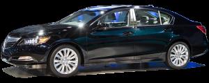 QAA - Acura RLX 2014-2020, 4-door, Sedan (6 piece Stainless Steel Pillar Post Trim ) PP14201 QAA - Image 2