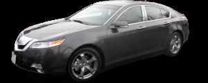 QAA - Acura TL 2009-2014, 4-door, Sedan (4 piece Stainless Steel Pillar Post Trim ) PP29295 QAA - Image 2