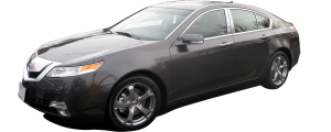 QAA - Acura TL 2009-2014, 4-door, Sedan (6 piece Stainless Steel Pillar Post Trim ) PP29296 QAA - Image 2
