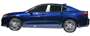 QAA - Acura TLX 2015-2020, 4-door, Sedan (4 piece Stainless Steel Pillar Post Trim ) PP15295 QAA - Image 2