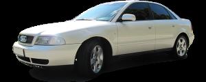 QAA - Audi A6 1996-2001, 4-door, Sedan (2 piece Stainless Steel Pillar Post Trim ) PP96624 QAA - Image 2