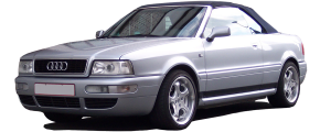 """QAA - Audi Cabriolet 1994-1998, 2-door, Convertible (6 piece Stainless Steel Rocker Panel Trim, Upper Kit 4.75"""" - 6"""" tapered Width Spans from the bottom of the molding DOWN to the specified width.) TH96628 QAA - Image 2"""