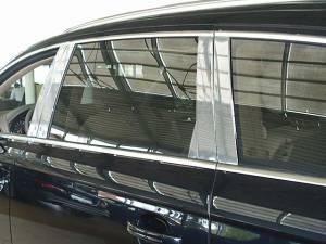 QAA - Audi Q7 2007-2015, 4-door, SUV (10 piece Stainless Steel Pillar Post Trim ) PP27615 QAA - Image 1