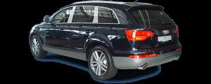 QAA - Audi Q7 2007-2015, 4-door, SUV (10 piece Stainless Steel Pillar Post Trim ) PP27615 QAA - Image 2