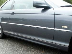 "Chrome Trim - More Trim Options - QAA - BMW 3 Series 2001-2005, 2-door, 325Ci Coupe (6 piece Stainless Steel Body Molding Insert Trim Kit 0.8125"" Width ) MI25900 QAA"