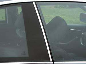QAA - BMW 3 Series 2001-2005, 2-door, 325Ci Coupe (2 piece Stainless Steel Pillar Post Trim ) PP25900 QAA