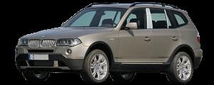 QAA - BMW X3 2004-2010, 4-door, SUV (4 piece Stainless Steel Pillar Post Trim ) PP25940 QAA - Image 2