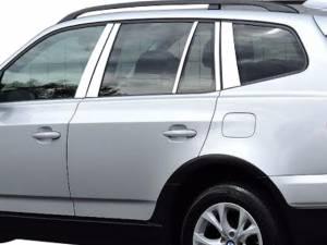 QAA - BMW X3 2004-2010, 4-door, SUV (10 piece Stainless Steel Pillar Post Trim ) PP25942 QAA - Image 1