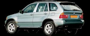 QAA - BMW X5 2000-2006, 4-door, SUV (4 piece Stainless Steel Pillar Post Trim ) PP25950 QAA - Image 2