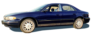 "QAA - Buick Century 1997-2004, 4-door, Sedan, CST/LTD (8 piece Stainless Steel Rocker Panel Trim, Lower Kit 5.25"" Width Spans from the bottom of the door UP to the specified width.) TH37540 QAA - Image 2"