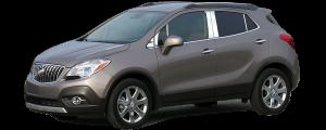 QAA - Buick Encore 2013-2019, 4-door, SUV (4 piece Stainless Steel Pillar Post Trim ) PP53560 QAA - Image 2