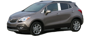 QAA - Buick Encore 2013-2019, 4-door, SUV (6 piece Stainless Steel Pillar Post Trim ) PP53561 QAA - Image 2