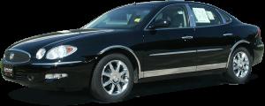 "QAA - Buick LaCrosse 2005-2009, 4-door, Sedan (2 piece Stainless Steel Roof Insert Trim 0.4375"" Width ) RI45520 QAA - Image 2"