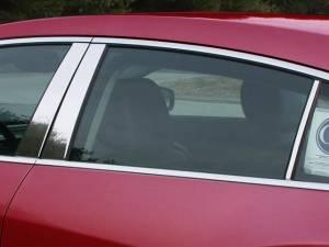 QAA - Buick LaCrosse 2010-2016, 4-door, Sedan (6 piece Stainless Steel Pillar Post Trim ) PP50521 QAA - Image 1
