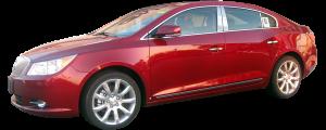 QAA - Buick LaCrosse 2010-2016, 4-door, Sedan (6 piece Stainless Steel Pillar Post Trim ) PP50521 QAA - Image 2