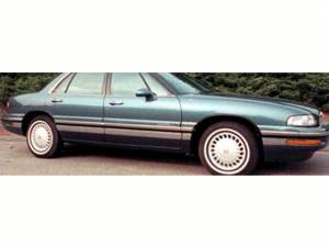 "Chrome Trim - Rocker Panel Trim - QAA - Buick LeSabre 1997-1999, 4-door, Sedan (10 piece Stainless Steel Rocker Panel Trim, Upper Kit 3"" Width, Full Length, Includes coverage from the wheel well to the bumper on the front and rear Spans from the bottom of the molding DOWN to the specified width"