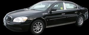 QAA - Buick Lucerne 2006-2011, 4-door, Sedan (1 piece Stainless Steel License Plate Bezel ) LP46550 QAA - Image 2