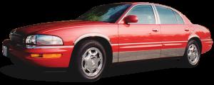 QAA - Buick Park Avenue 1991-1996, 4-door, Sedan (4 piece Stainless Steel Pillar Post Trim ) PP31580 QAA - Image 2