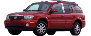 QAA - Buick Rainier 2004-2007, 4-door, SUV (1 piece Stainless Steel Gas Door Cover Trim Warning: This is NOT a replacement cap. You MUST have existing gas door to install this piece ) GC44520 QAA - Image 2