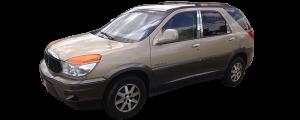 QAA - Buick Rendezvous 2002-2008, 4-door, SUV (4 piece Stainless Steel Pillar Post Trim ) PP42510 QAA - Image 2