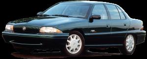 QAA - Buick Skylark 1993-1997, 4-door, Sedan (8 piece Stainless Steel Door Handle Accent Trim ) DH32540 QAA - Image 2