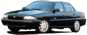 """QAA - Buick Skylark 1996-1997, 4-door, Sedan (8 piece Stainless Steel Rocker Panel Trim, Upper Kit 5.875"""" - 8"""" tapered Width Spans from the bottom of the molding DOWN to the specified width.) TH36540 QAA - Image 2"""