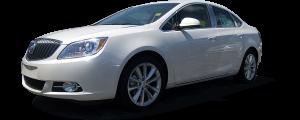QAA - Buick Verano 2012-2017, 4-door, Sedan (4 piece Stainless Steel Pillar Post Trim ) PP52540 QAA - Image 2