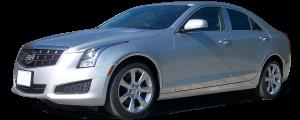QAA - Cadillac ATS 2013-2018, 4-door, Sedan (2 piece Stainless Steel License Bar Extension Trim ) LB53235 QAA - Image 2
