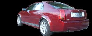 QAA - Cadillac CTS 2005-2007, 4-door, Sedan (1 piece Stainless Steel License Plate Bezel ) LP45250 QAA - Image 3
