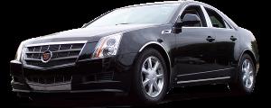 QAA - Cadillac CTS 2008-2013, 4-door, Sedan (2 piece Stainless Steel License Bar Extension Trim ) LB48250 QAA - Image 2