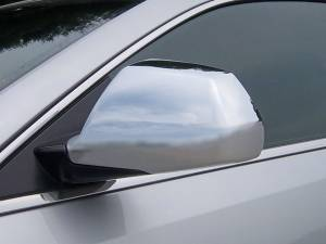 QAA - Cadillac CTS 2008-2013, 4-door, Sedan (2 piece Chrome Plated ABS plastic Mirror Cover Set ) MC48251 QAA