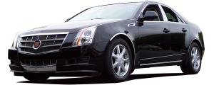 QAA - Cadillac CTS 2008-2013, 4-door, Sedan (4 piece Stainless Steel Wheel Well Accent Trim With 3M adhesive installation and black rubber gasket edging.) WQ48250 QAA - Image 2