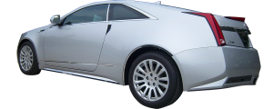 QAA - Cadillac CTS Coupe 2011-2014, 2-door, Coupe (1 piece Stainless Steel Gas Door Cover Trim Warning: This is NOT a replacement cap. You MUST have existing gas door to install this piece ) GC50254 QAA - Image 3