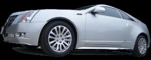 "QAA - Cadillac CTS Coupe 2011-2014, 2-door, Coupe (6 piece Stainless Steel Body Molding Insert Trim Kit 0.75"" Width ) MI50254 QAA - Image 2"