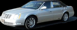 QAA - Cadillac DTS 2006-2011, 4-door, Sedan (4 piece Stainless Steel Pillar Post Trim ) PP40245 QAA - Image 2