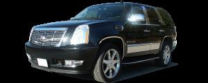 QAA - Cadillac Escalade 2007-2014, 4-door, SUV (2 piece Chrome Plated ABS plastic Mirror Cover Set Bottom Half Only ) MC47197 QAA - Image 2