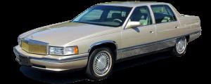 QAA - Cadillac DeVille 1997-1999, 4-door, Sedan (6 piece Stainless Steel Pillar Post Trim ) PP37246 QAA - Image 2