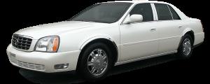QAA - Cadillac DeVille 2000-2005, 4-door, Sedan (1 piece Stainless Steel License Plate Bezel ) LP40245 QAA - Image 2