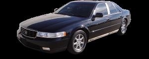 QAA - Cadillac Seville 1998-2004, 4-door, Sedan (6 piece Stainless Steel Pillar Post Trim ) PP38237 QAA - Image 2