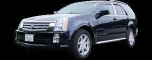 QAA - Cadillac SRX 2004-2009, 4-door, SUV (1 piece Stainless Steel License Plate Bezel ) LP44260 QAA - Image 2