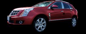 QAA - Cadillac SRX 2010-2016, 4-door, SUV (4 piece Stainless Steel Pillar Post Trim ) PP50260 QAA - Image 2